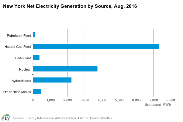 New York Electricity Generation